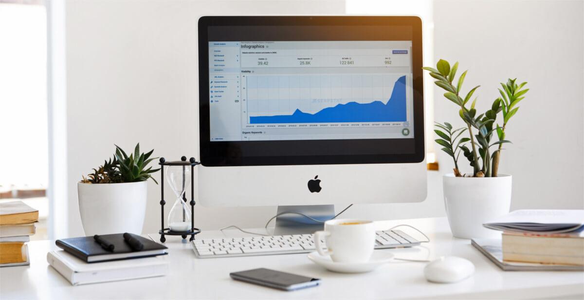 website pozitioning charts digital marketing agency from poland