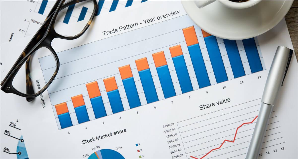 wykresy audyt marketingowy w firmie analiza dzialan